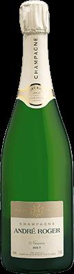 Packshot bouteille Nuance Champagne André Roger