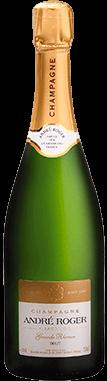 Packshot bouteille Réserve Champagne André Roger
